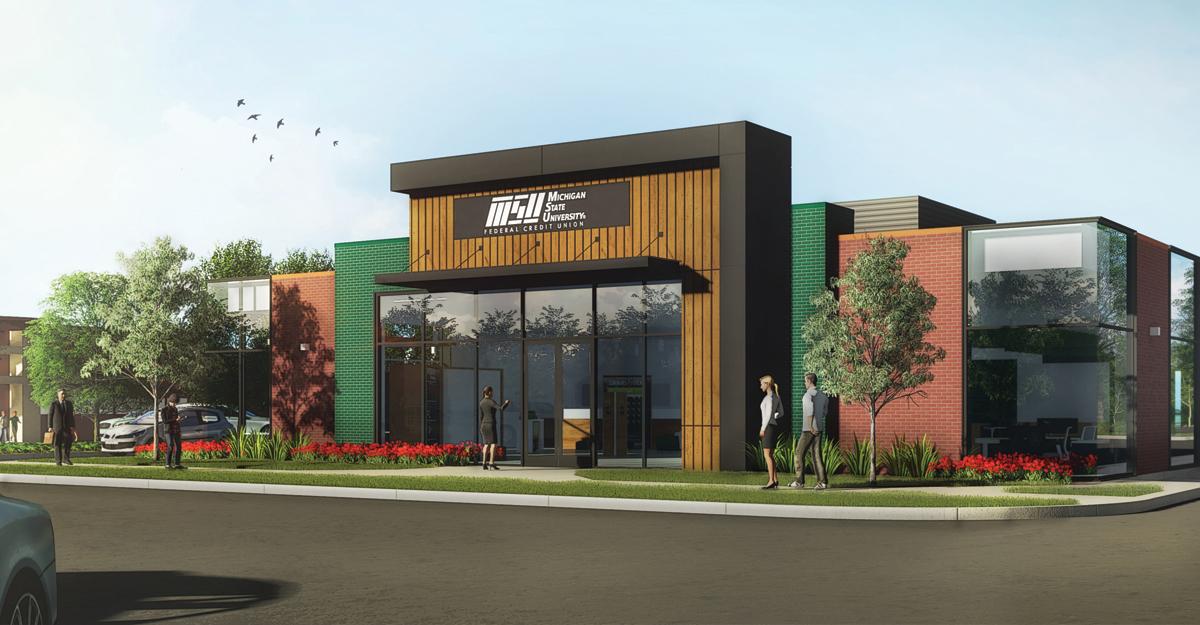 MSUFCU Building Rendering